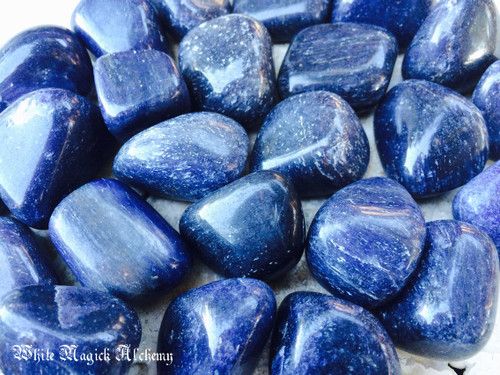 Blue Aventurine Gemstones Polished Tumbled Large