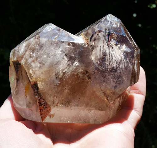 Elestial Quartz Twin Point ~ Change and Transformation