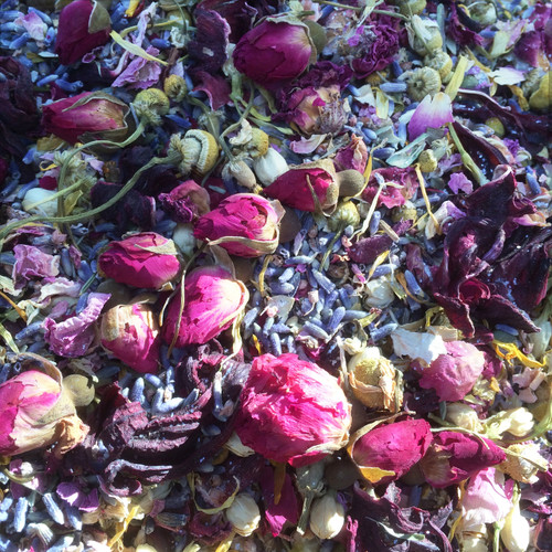 *Brigids Blossoms Alchemy Casting Herbs for Imbolc & Festival of Lights