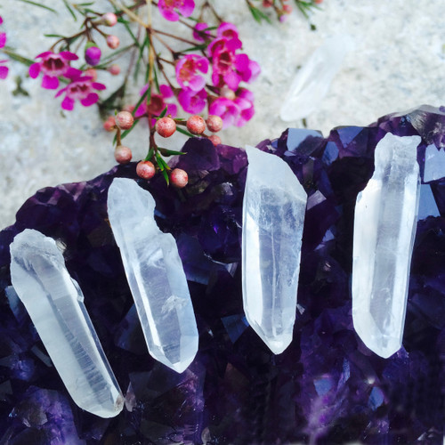 Fairy Quartz Wands for Angelic Guardian Communications & Fairy Magic