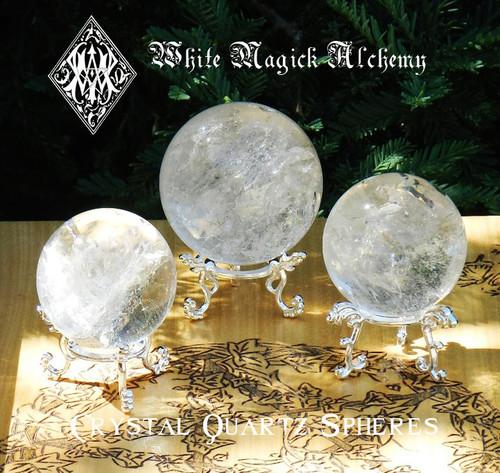 Quartz Spheres & Crystal Balls