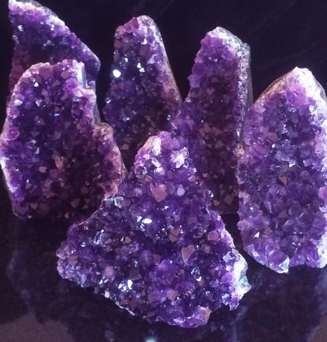 Amethyst Crystal Clusters Large
