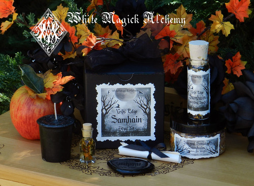 Samhain Ritual Set for Ancestor Callings, Veils Edge