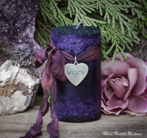 Season of the Witch Candles . Celebrate Being a Witch and Reclaim Your Power . Samhain the Witches New Year & Halloween