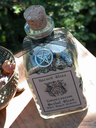 Consecration Herbal Blend for Crystals, Tools, Jewelry and More