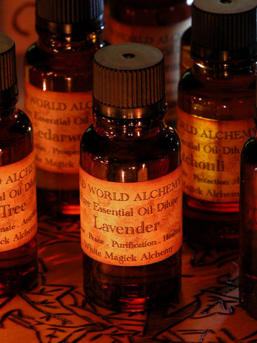 Lavender Essential Oil . White Magick Alchemy Pure Essential Dilute . Peace, Love, Healing, Meditation, Spirit Workings