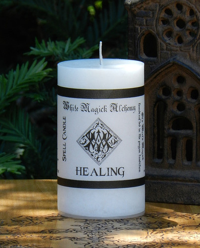 HEALING Spell Candle . Health, Healing and Blessings, Bring Healing Energies Forth