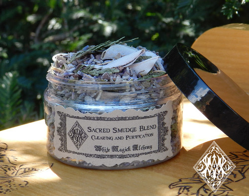 Sacred Smudging Herbs . For Cleansing and Clearing the Home of Negativity, Spiritual Cleansing, Banishing, Protection