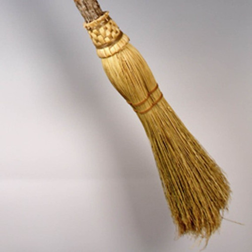 Natural Colored Ceremonial Broom ~ Witches Besom