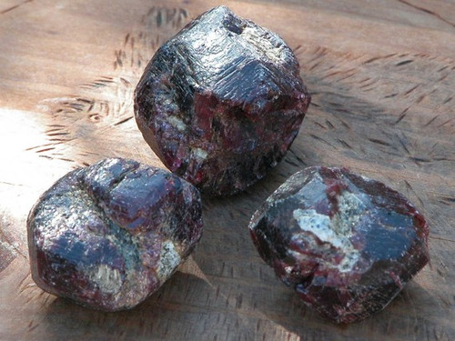 Natural Raw Almandine Garnet Gemstone . For Love, Protection, Healing, Success, Faerie Workings