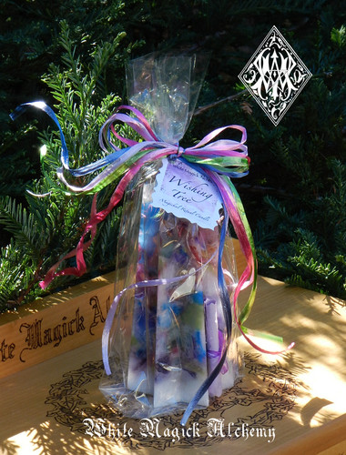 Wishing Tree . Sacred Intent Candle with Magickal Wishing Powders . Wishes, Abundance, Health, Love, Luck, Transformation, Change