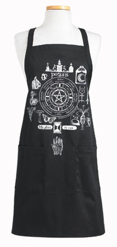 Spells & Magic Potions Wheel of the Year Apron