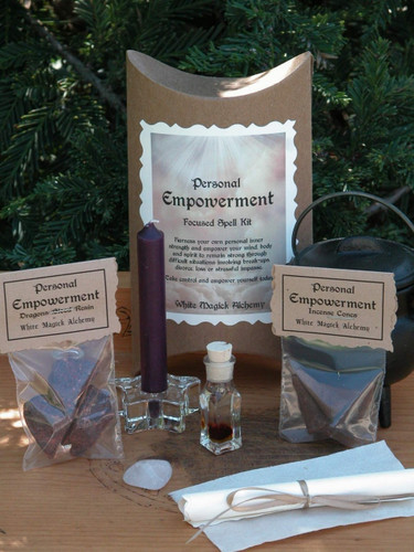 Personal Empowerment Focused Spell Kit