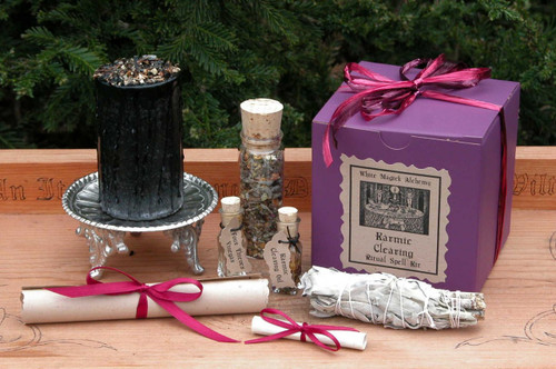 Karmic Clearing Renewal Ritual Spell Kit . Protection from Adverse Conditions, Negativity, Renew Karmic Flows from Present/Past Lives