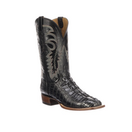 LIMITED RELEASE Lucchese Mens American Alligator Western Boots KD6003 BLACK 7 TOE,3 HEEL