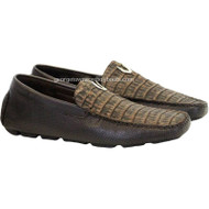 Men's Vestigium Genuine Caiman Belly Loafers Handcrafted 7ZC038235