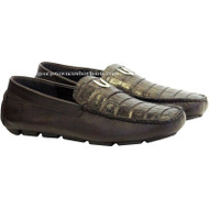 Men's Vestigium Genuine Caiman Belly Loafers Handcrafted 7ZC038207