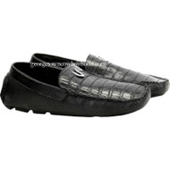 Men's Vestigium Genuine Caiman Belly Loafers Handcrafted 7ZC038205