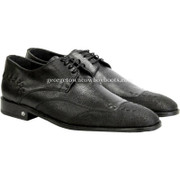 Men's Vestigium Genuine Catshark Derby Shoes Handcrafted 7ZV018505