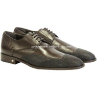Men's Vestigium Genuine Catshark Derby Shoes Handcrafted 7ZV018507