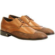 Men's Vestigium Genuine Catshark Derby Shoes Handcrafted 7ZV018503