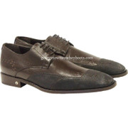 Men's Vestigium Genuine Catshark Derby Shoes Handcrafted 7ZV018507F