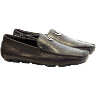 Men's Vestigium Genuine Ostrich Leg Loafers Handcrafted 7ZC030507