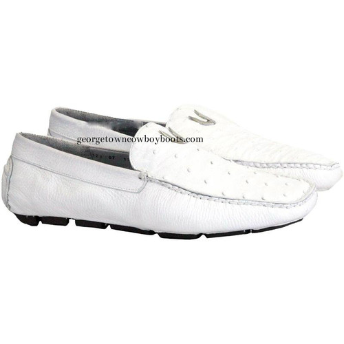 Men's Vestigium Genuine Ostrich Loafers Handcrafted 7ZC030328