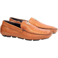 Men's Vestigium Genuine Ostrich Loafers Handcrafted 7ZC030303