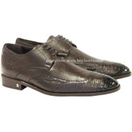 Men's Vestigium Genuine Python Snakeskin Derby Shoes Handcrafted 7ZV035707F