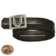 Vestigium Catshark Belt W Interchangeable Gold & Silver Buckle 7C15807
