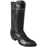 Men's Los Altos Caiman Hornback Medium Round Toe Boots Handcrafted 600205