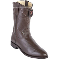 Men's Los Altos Roper Boots Elk Leather Round Toe Handcrafted 805107