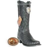 Men's Los Altos Caiman Belly 7 Toe Boots Handcrafted 58G8205