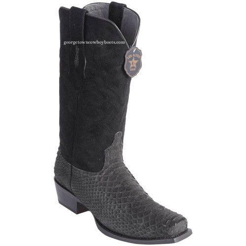 Men's Los Altos Python 7 Toe Boots Genuine Snakeskin Handcrafted 58n5705