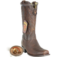 Men's Los Altos 7 Toe Leather Cowboy Boots Handmade 589940