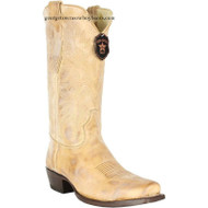 Men's Los Altos 7 Toe Leather Cowboy Boots Handmade 583651