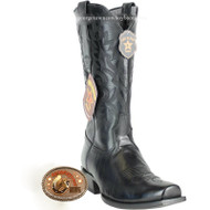 Men's Los Altos 7 Toe Leather Cowboy Boots Handmade 583805
