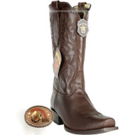 Men's Los Altos 7 Toe Leather Cowboy Boots Handmade 583807