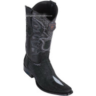 Men's Los Altos Stingray Boots European Square Toe Handcrafted 761205