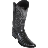 Men's Los Altos Caiman Belly Boots European Square Toe Handcrafted 768205