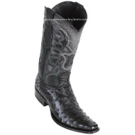 Men's Los Altos Full Quill Ostrich Boots European Square Toe Handcrafted 760305