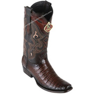 Men's King Exotic Caiman Belly Boots Dubai Toe Handcrafted 4798216