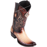 Men's King Exotic Caiman Belly Boots Dubai Toe Handcrafted 4798215