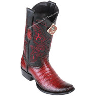 Men's King Exotic Caiman Belly Boots Dubai Toe Handcrafted 4798243