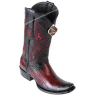 Men's King Exotic Ostrich Leg Boots Dubai Toe Handcrafted 4790543
