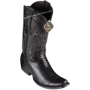 Men's King Exotic Python Boots Dubai Toe Handcrafted 4795705