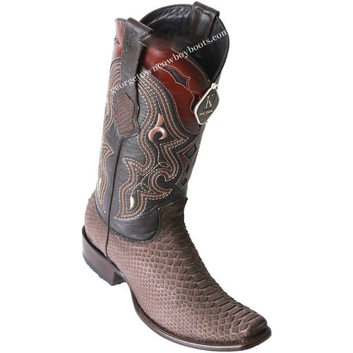 Men's King Exotic Python Boots Dubai Toe Handcrafted 479N5707