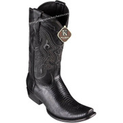 Men's King Exotic Teju Lizard Boots Dubai Toe Handcrafted 4790705