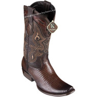 Men's King Exotic Teju Lizard Boots Dubai Toe Handcrafted 4790716
